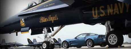 F-18 vs Corvette ZR=1